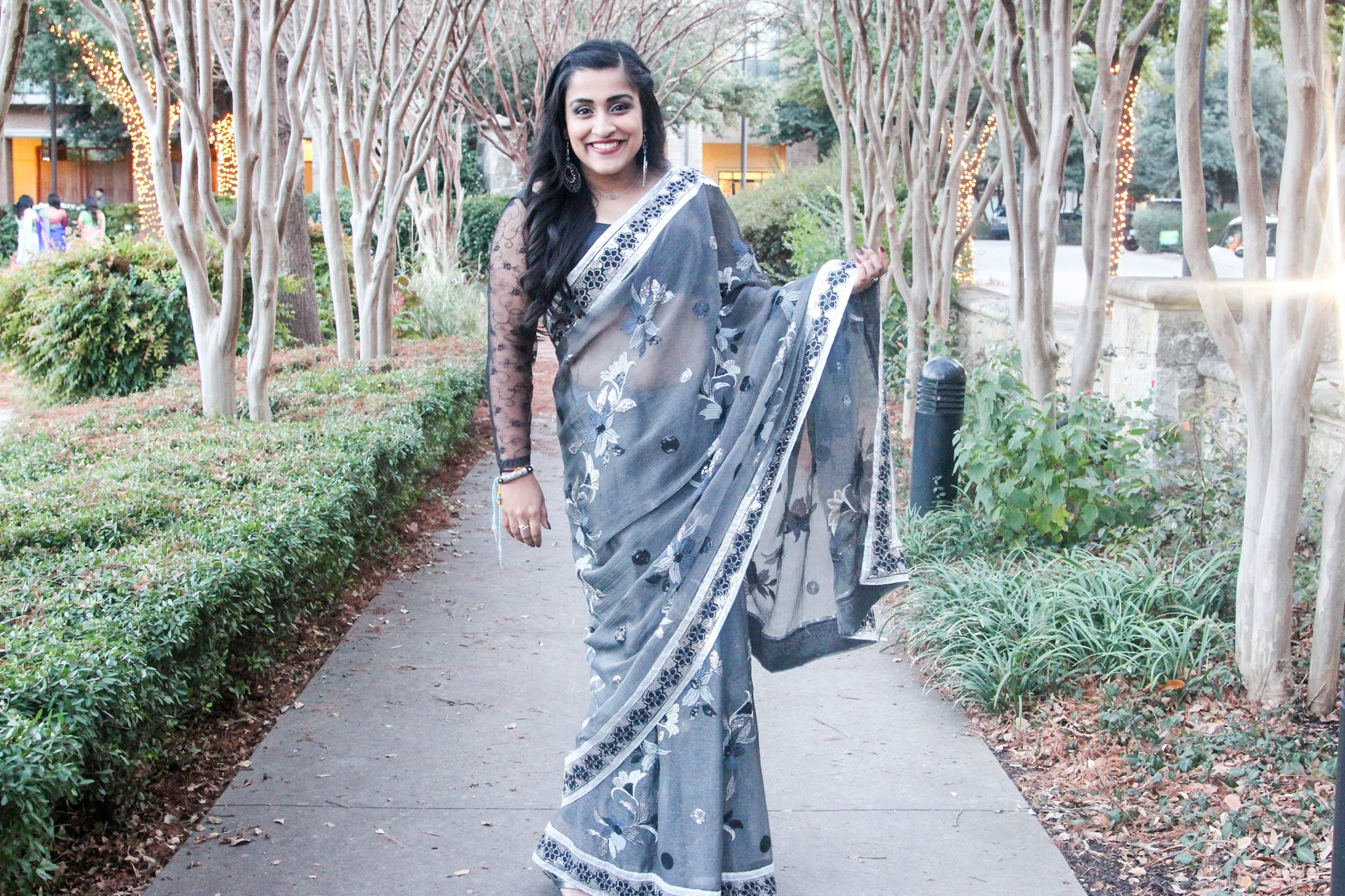 Let Loose Saree Style