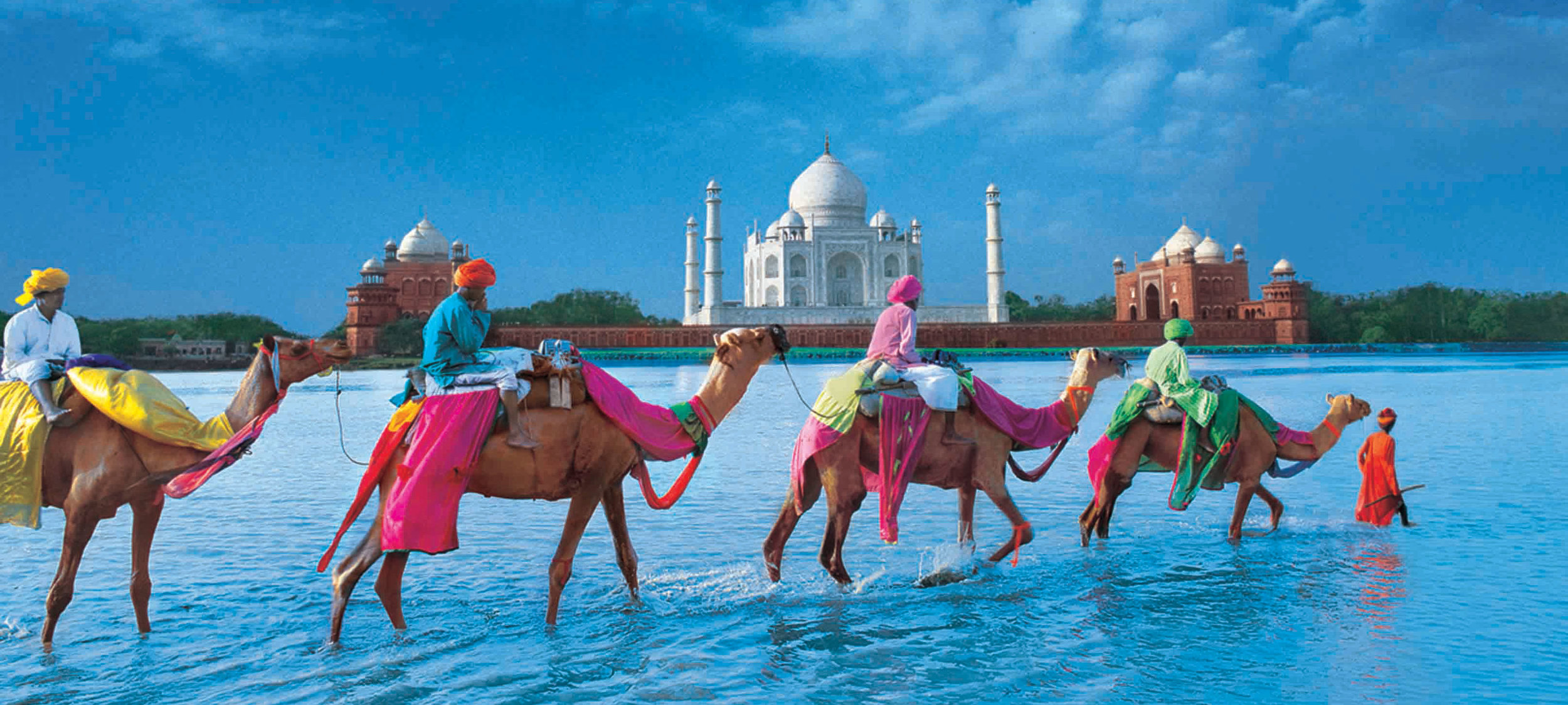 incredible INDIA - Fancy escaping more than the country this season? Try flying into a totally different world!