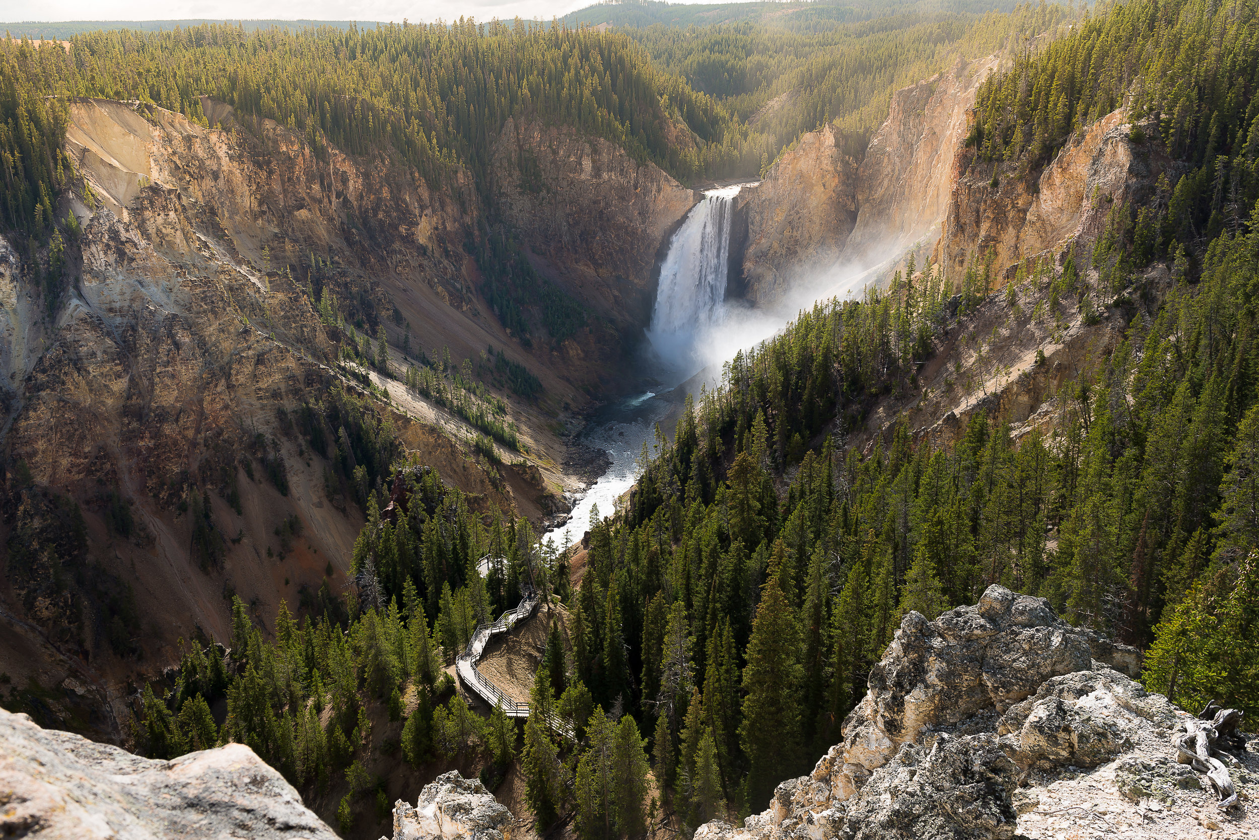 Image; Yellowstone National Park, USA