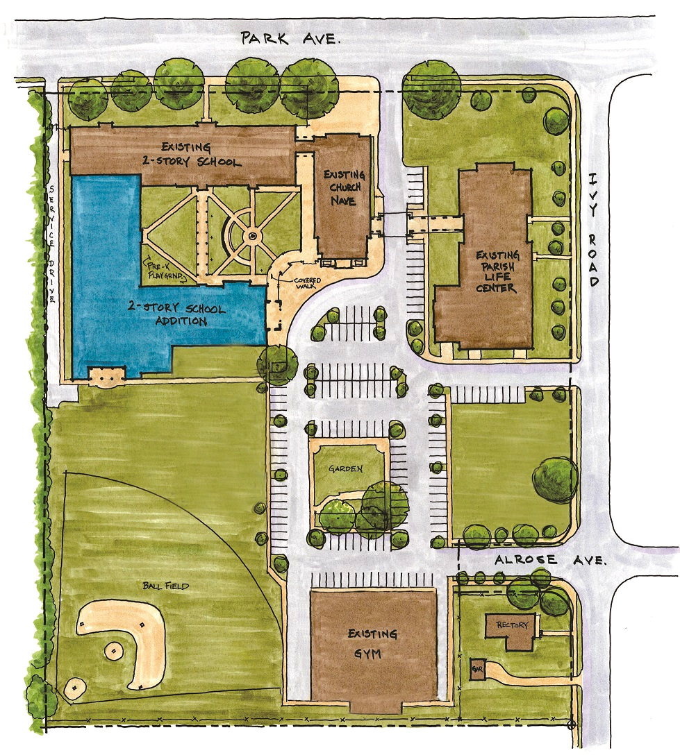 PROPOSED PHASE 1 SITE PLAN