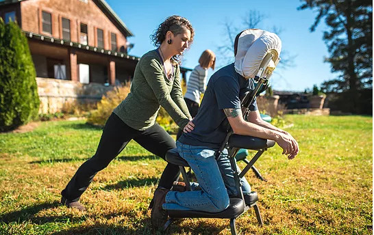 Corporate or Office Chair Massage