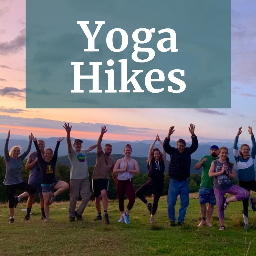 Yoga Hikes in Asheville