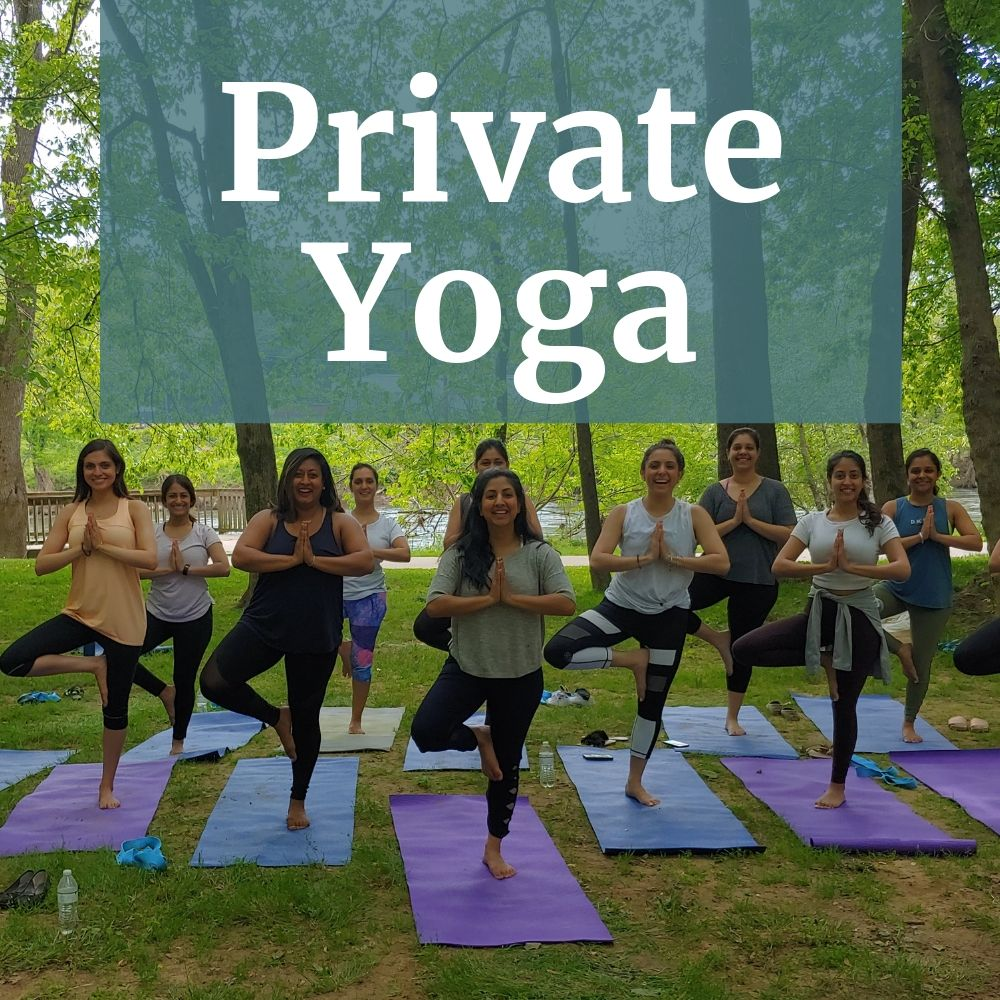 Private Group Yoga in Asheville