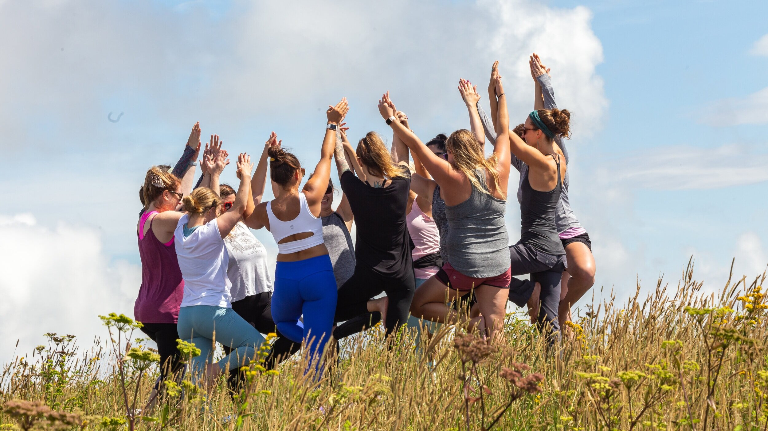 Yoga Hike in Asheville - Bachelorette Party