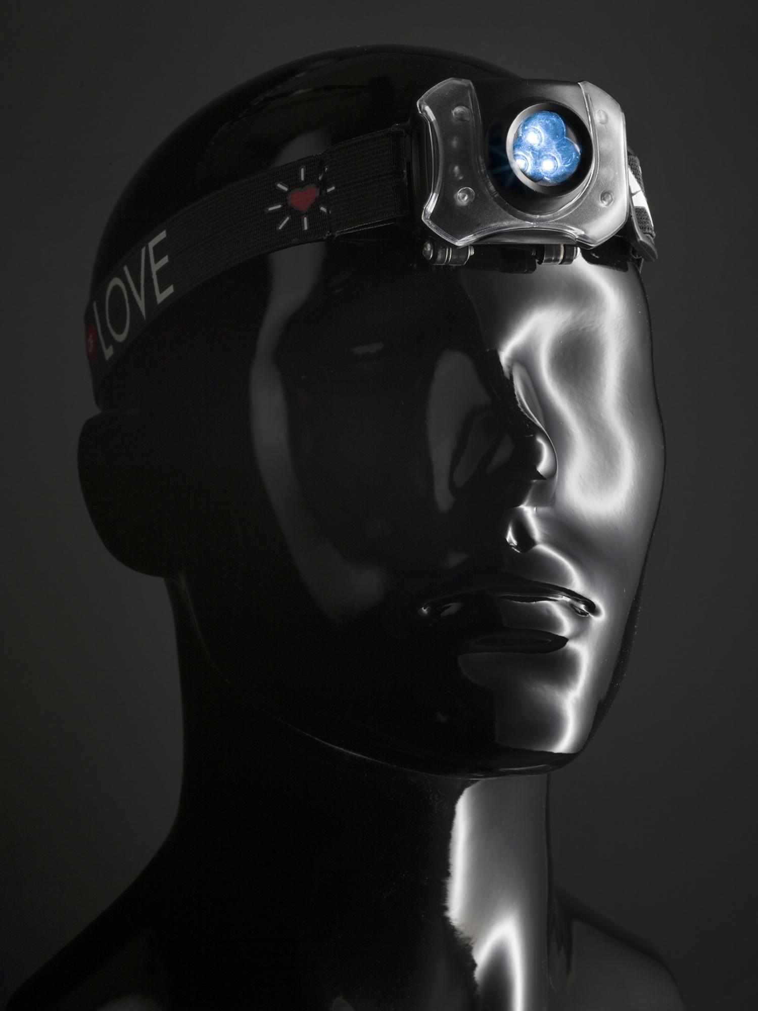 Solar head lamp