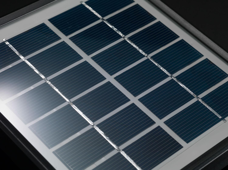 Weather proof solar panel