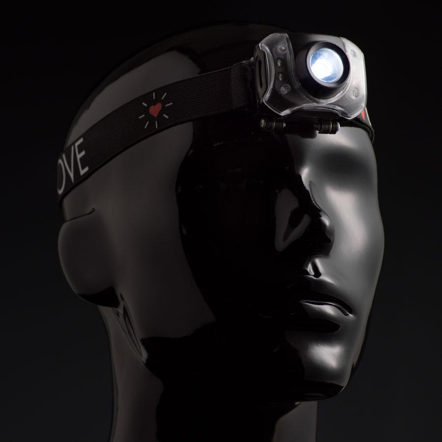 Extreme Edition Solar Headlamp.