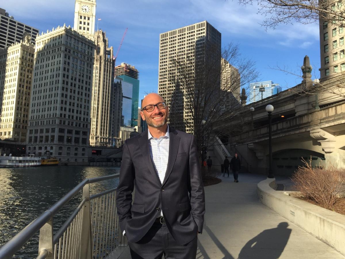 Jeff Karp presented the MPSA paper in Chicago, 6 April 2017