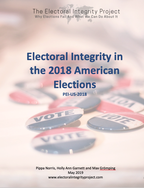 PEI-US-2018 — The Electoral Integrity Project EIP