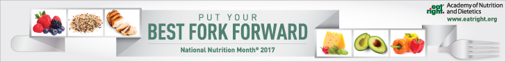 National Nutrition Month, March 2017