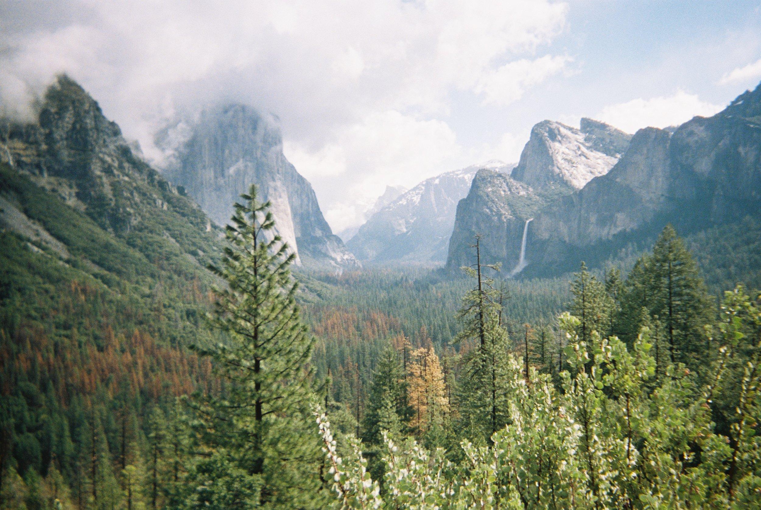 Tunnel View I Yosemite National Park, California
