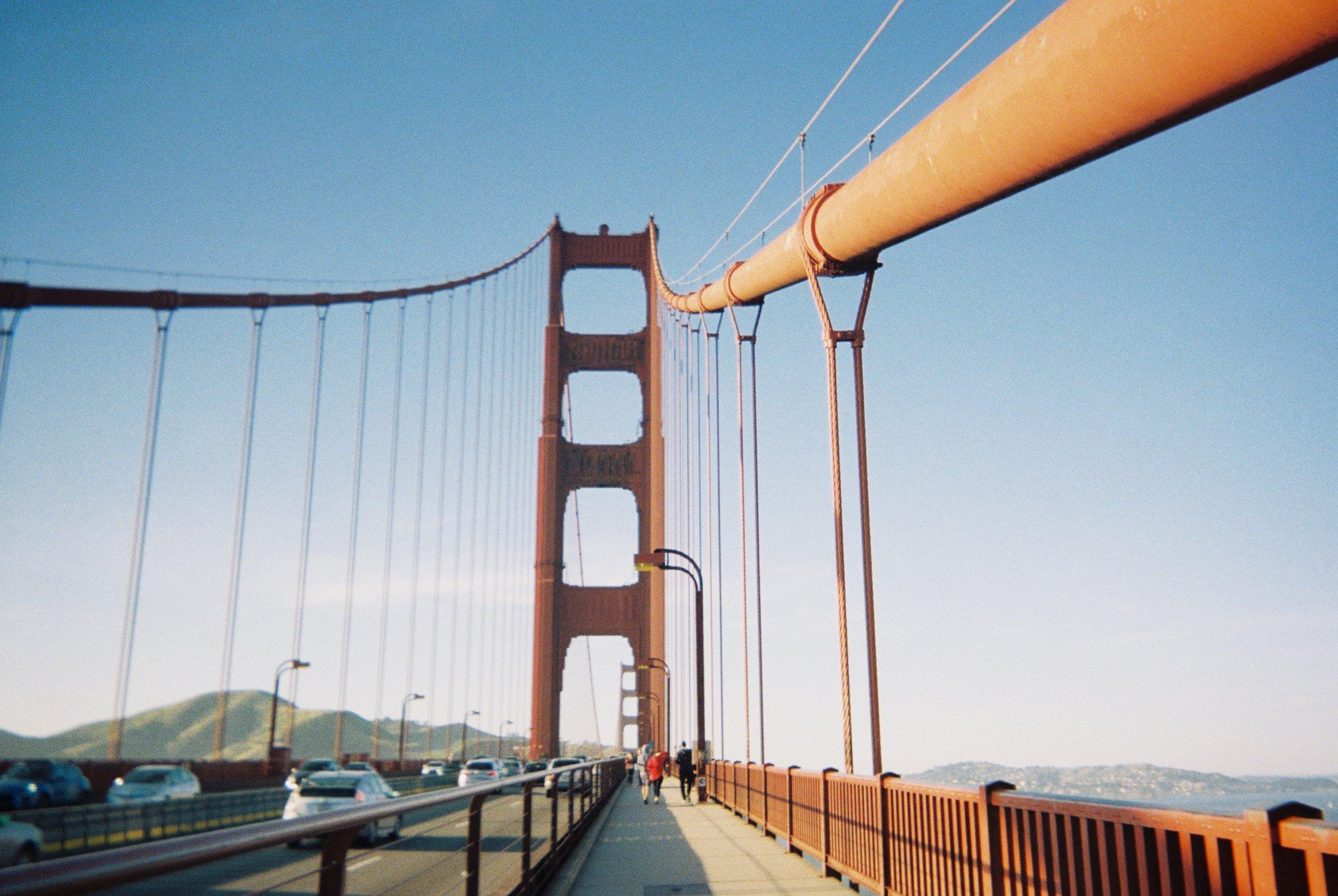 The Golden Gate Bridge I San Fransicso, California