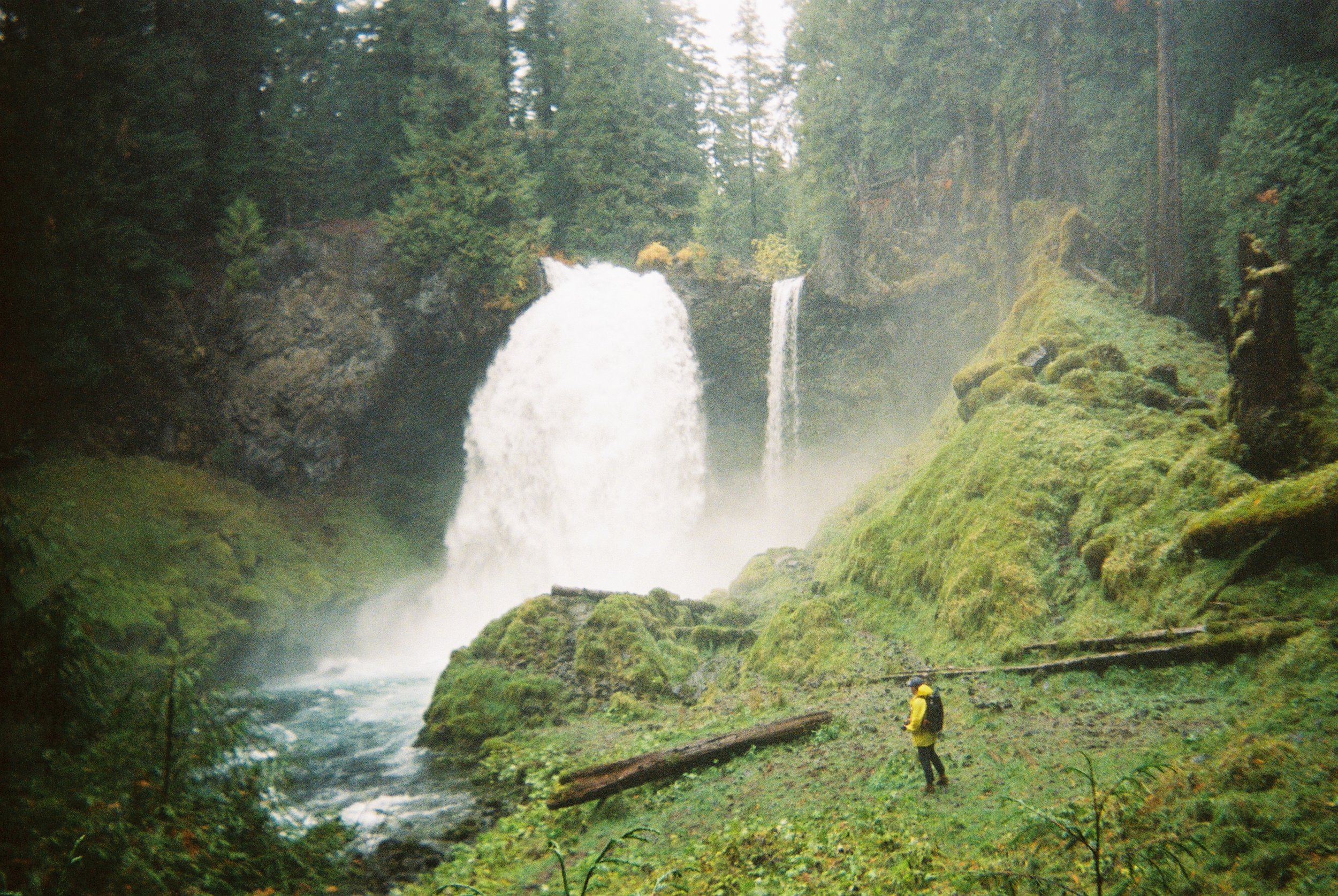 Sahalie Falls, Oregon I Featuring:  @gainestravels