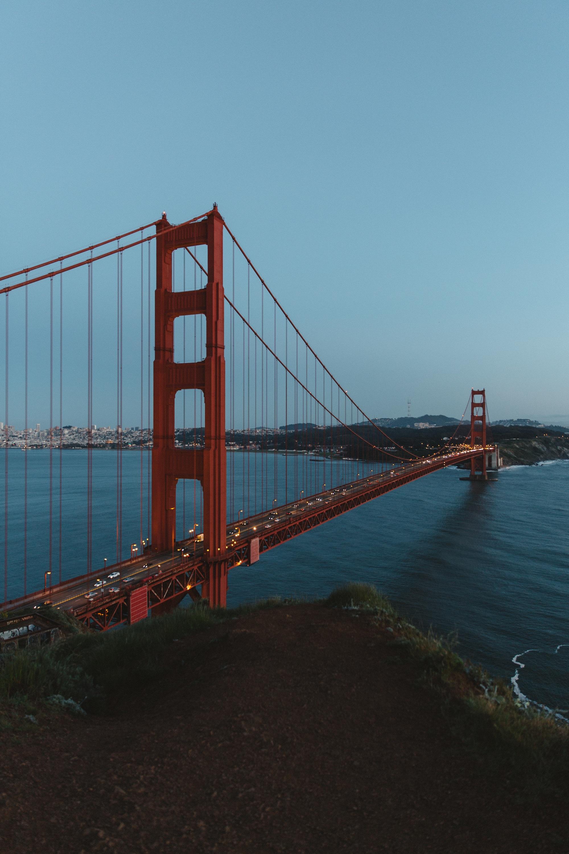 The Golden Gate Bridge - San Francisco, California