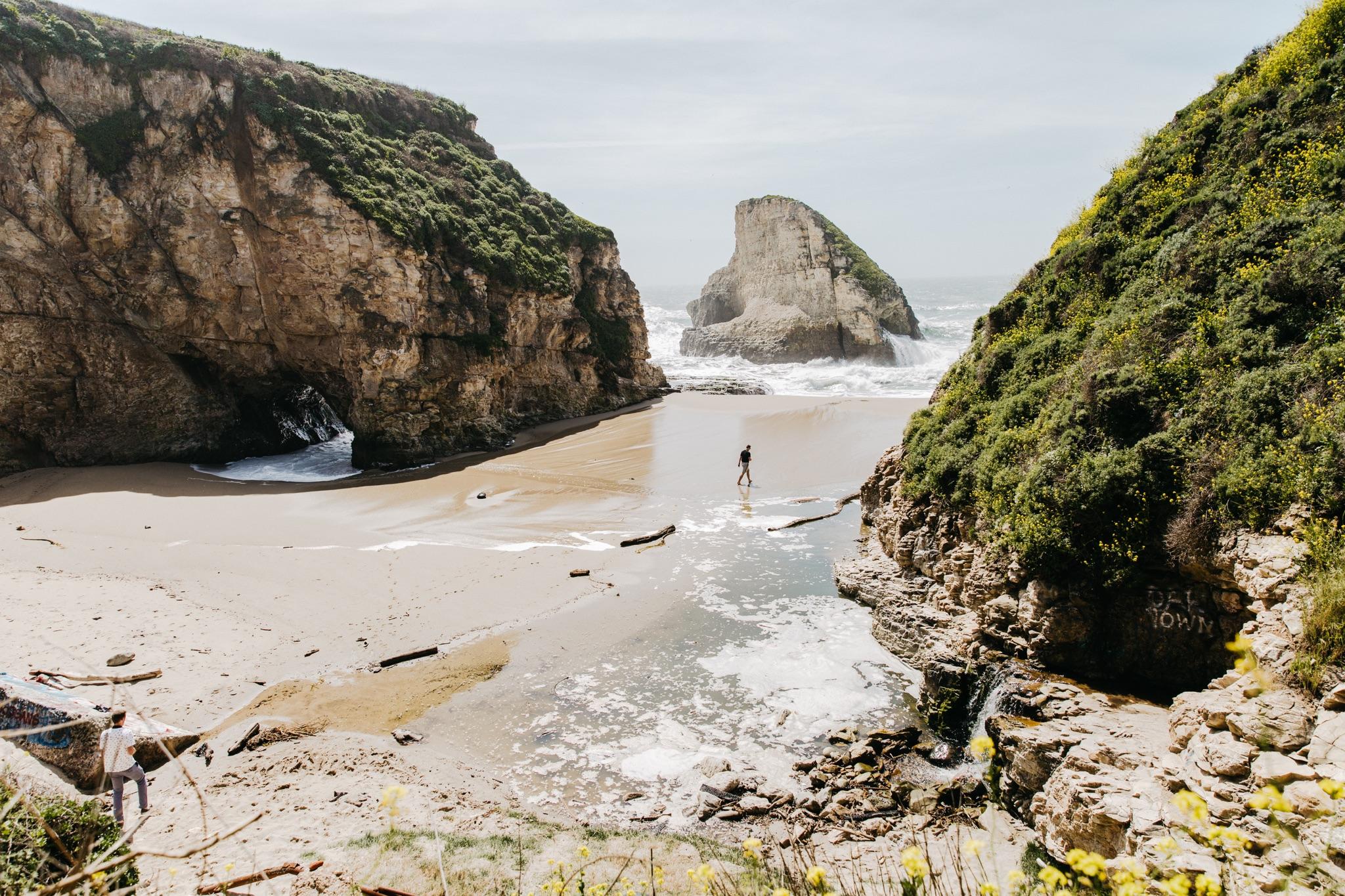 Shark Fin Cove - Santa Cruz, California