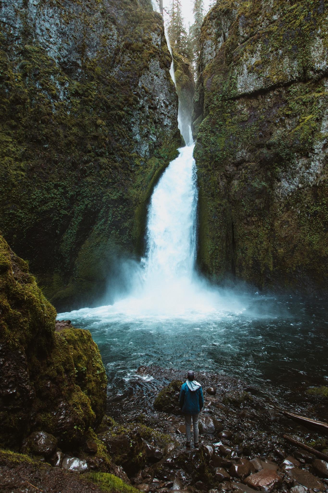 Wahclella Falls - The Columbia River Gorge, Oregon