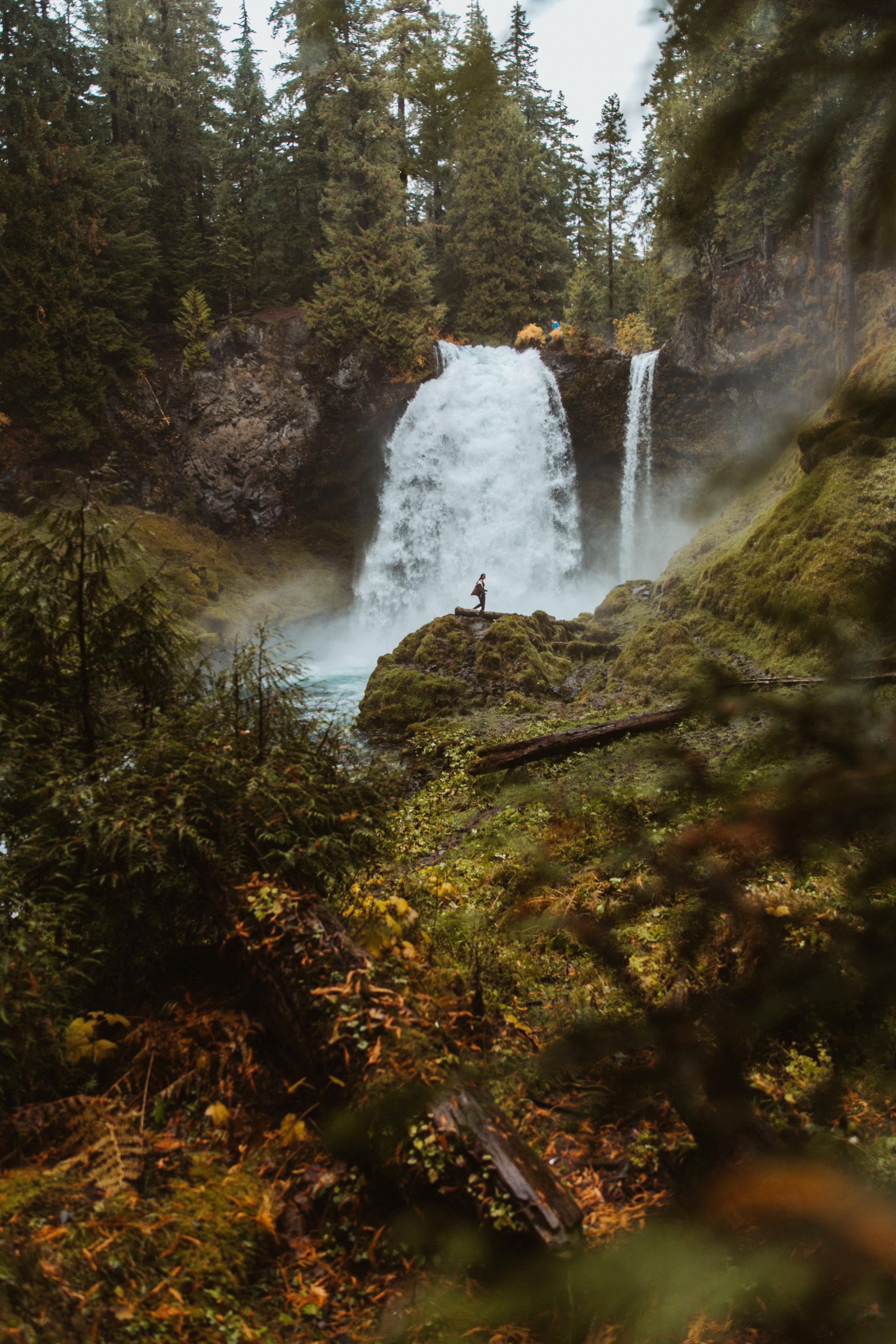 Sahalie Falls - Oregon