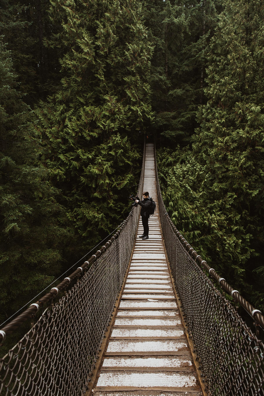 Lynn Canyon Suspension Bridge - Vancouver BC, Canada