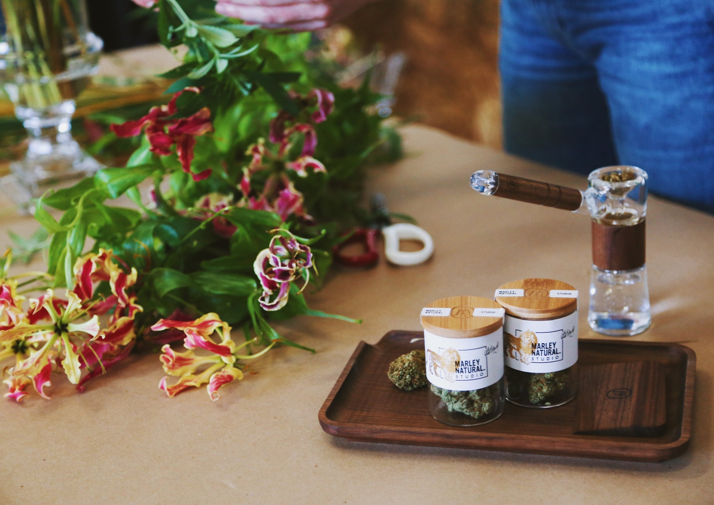 Marley Natural Studio Collection of indoor-grown herb now available at select retailers. Learn more  here