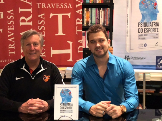 Dr. McDuff and Dr.Fádel at their book release in Rio de Janeiro, Brazil. (March 2018)