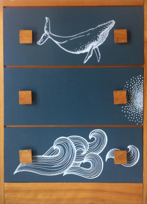 Whale and Waves