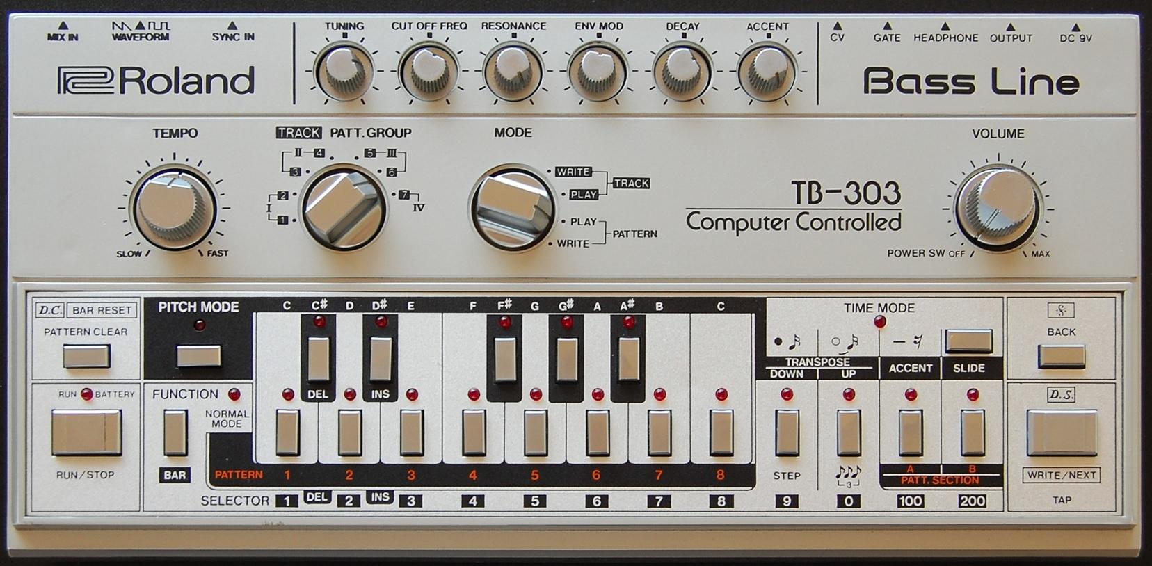 Roland TB-303 Bassline