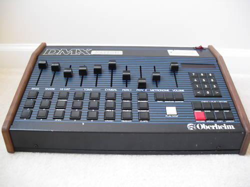 Oberheim DMX drum machine