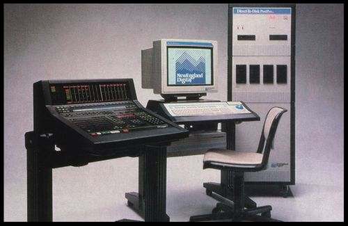 NED PostPro/Synclavier Tapeless system with unreleased Controller/Mixer ca. 1989