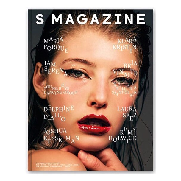 S Magazine Cover❣️#chloebstyling  Model @bbrittanyburke  Photo @jensstoltze_  Hair @stefano_greco  Makeup @kentoutsubo  Thank you @albrightfashionlibrary