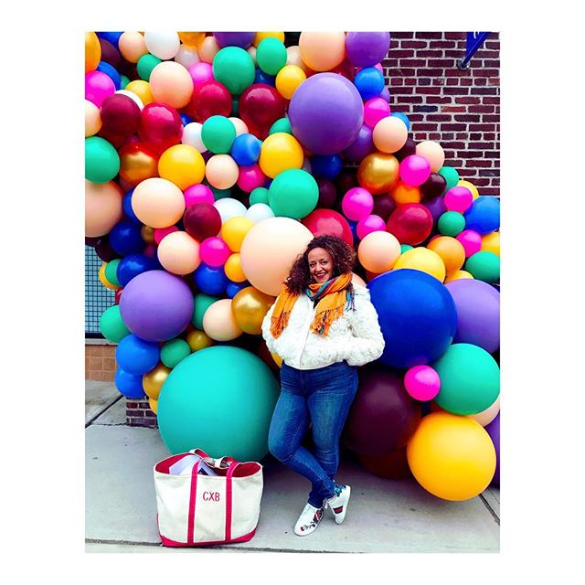 The X stands for Xciting 🎈🎂 #CXB The LOVE today was real guys, thank you! #bornday #33 #thanksMOMandDAD thanks to whoever set up this balloon arch in my honor 📸 @cara_gordon ❣️3/28❣️