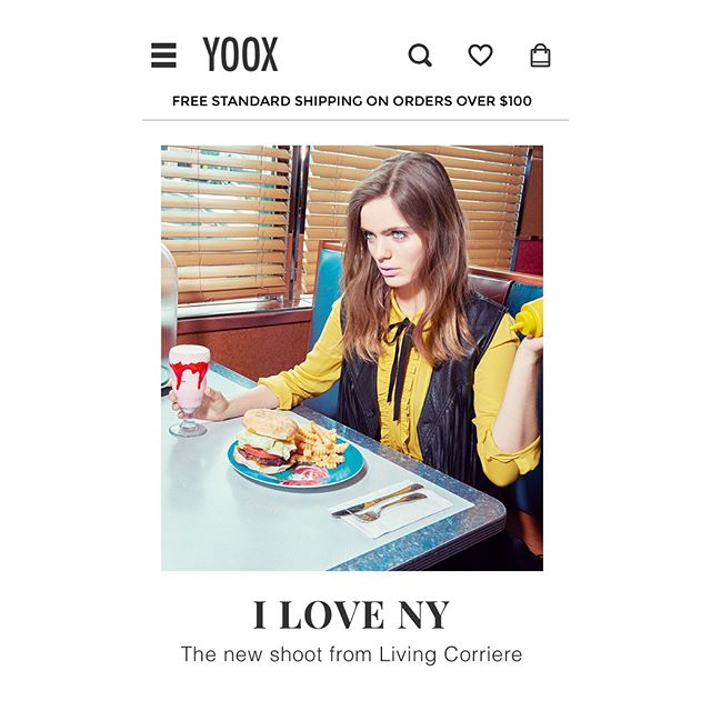 I❣️NY @yoox @livingcorriere #NewWork #NewYork #chloebstyling  Big thanks to @kourtneyroy for the gorgeous photography! It was a fun few days running around NYC! @cara_gordon💕