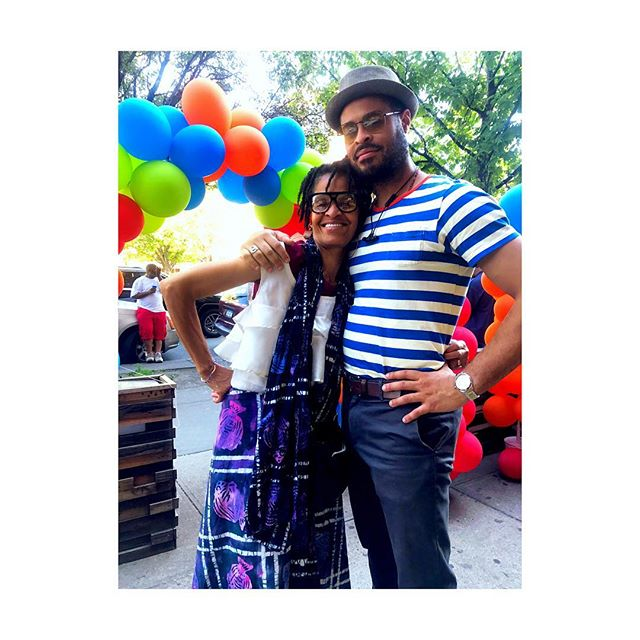 A Mother and her Sun ☀️❣️ #Harlem #NYC #King #amotherslove #family #morelove spent a beautiful Saturday in Harlem with family❣️ thank you for all of the #love