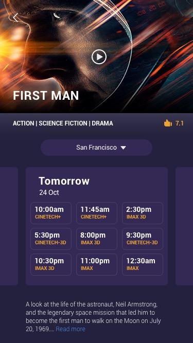 Choose Movie Time