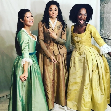 Eliza! Angelica! And Peggy! #work