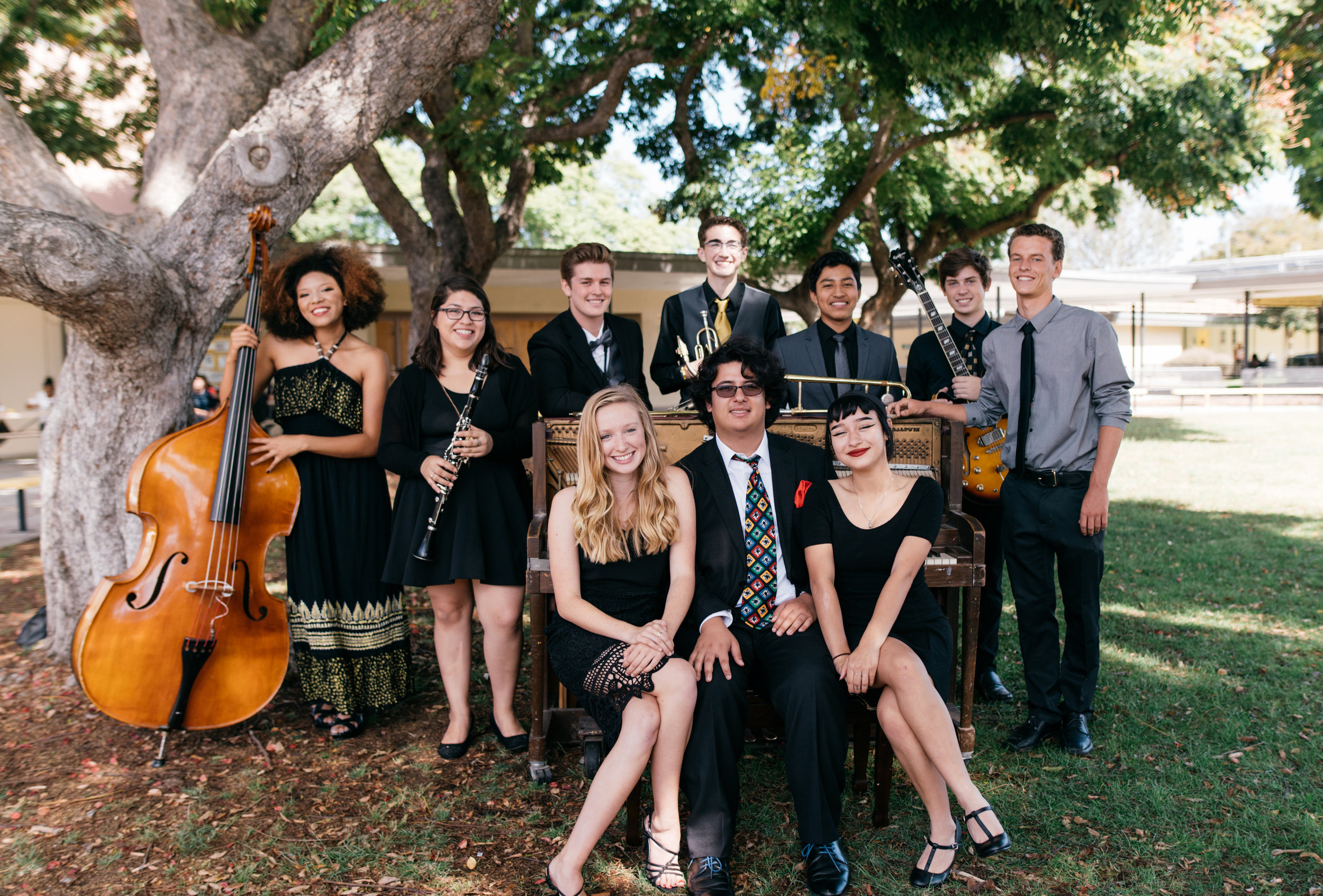 Preservationists  : We bring the excitement and joy of New Orleans to you with every event. This young group of musicians has blown audiences away all over the world with their high energy and professional performances.  More info here.