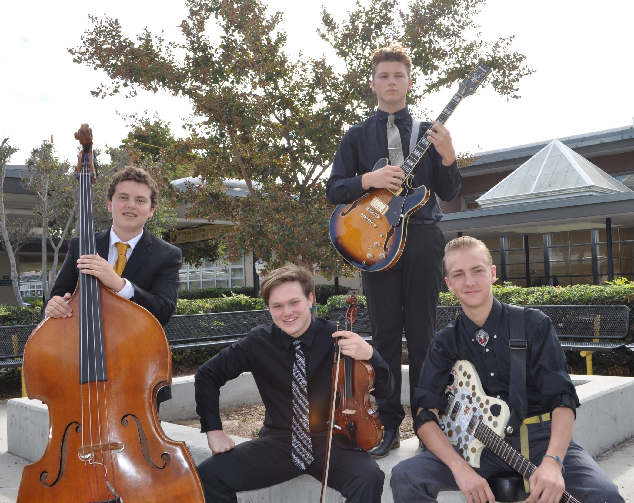 Gypsy Jazz Quartet:  Great for any event, this combo features some of Mission Bay's most talented musicians.