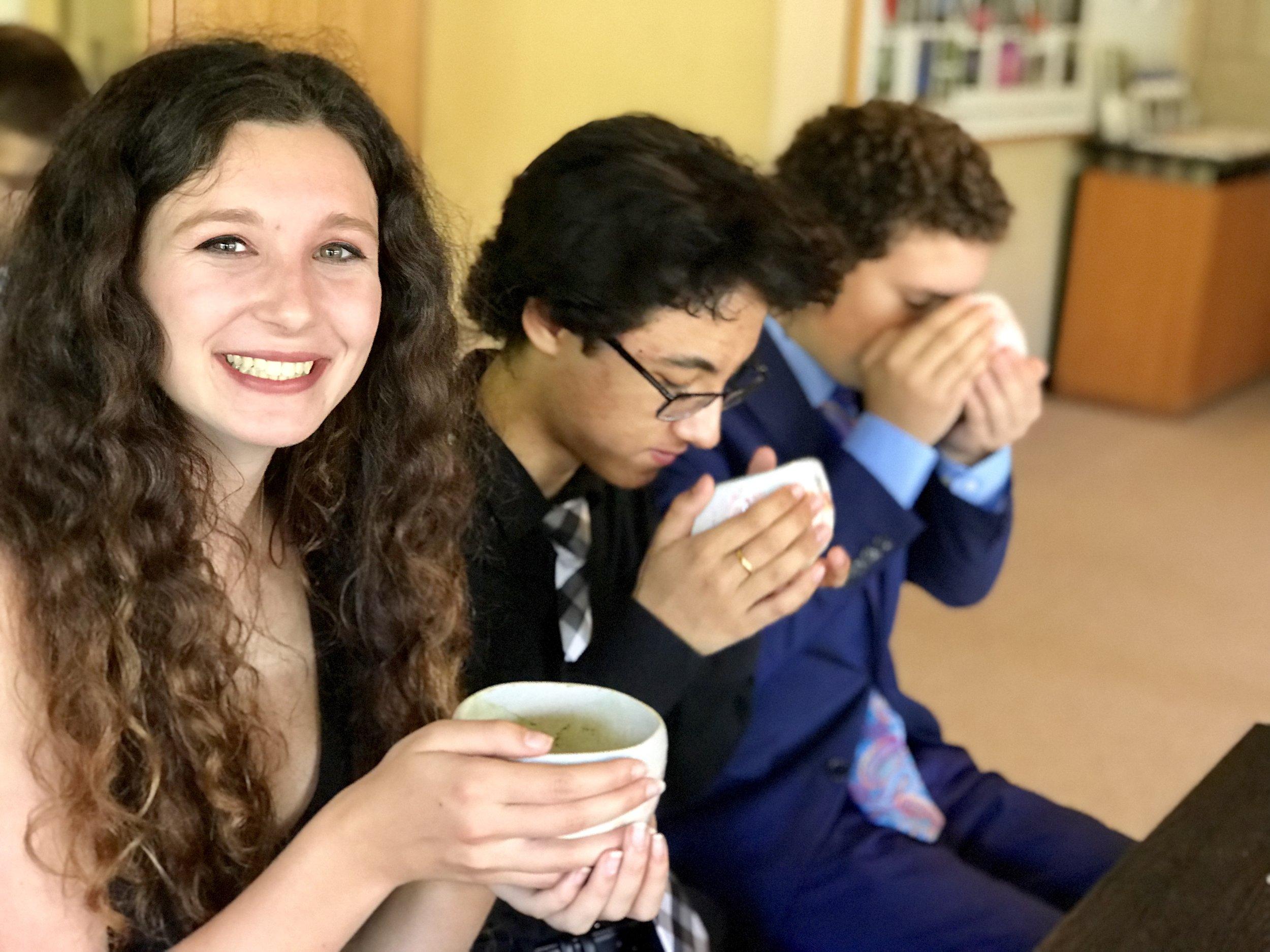 Tea ceremony at Sankien Garden