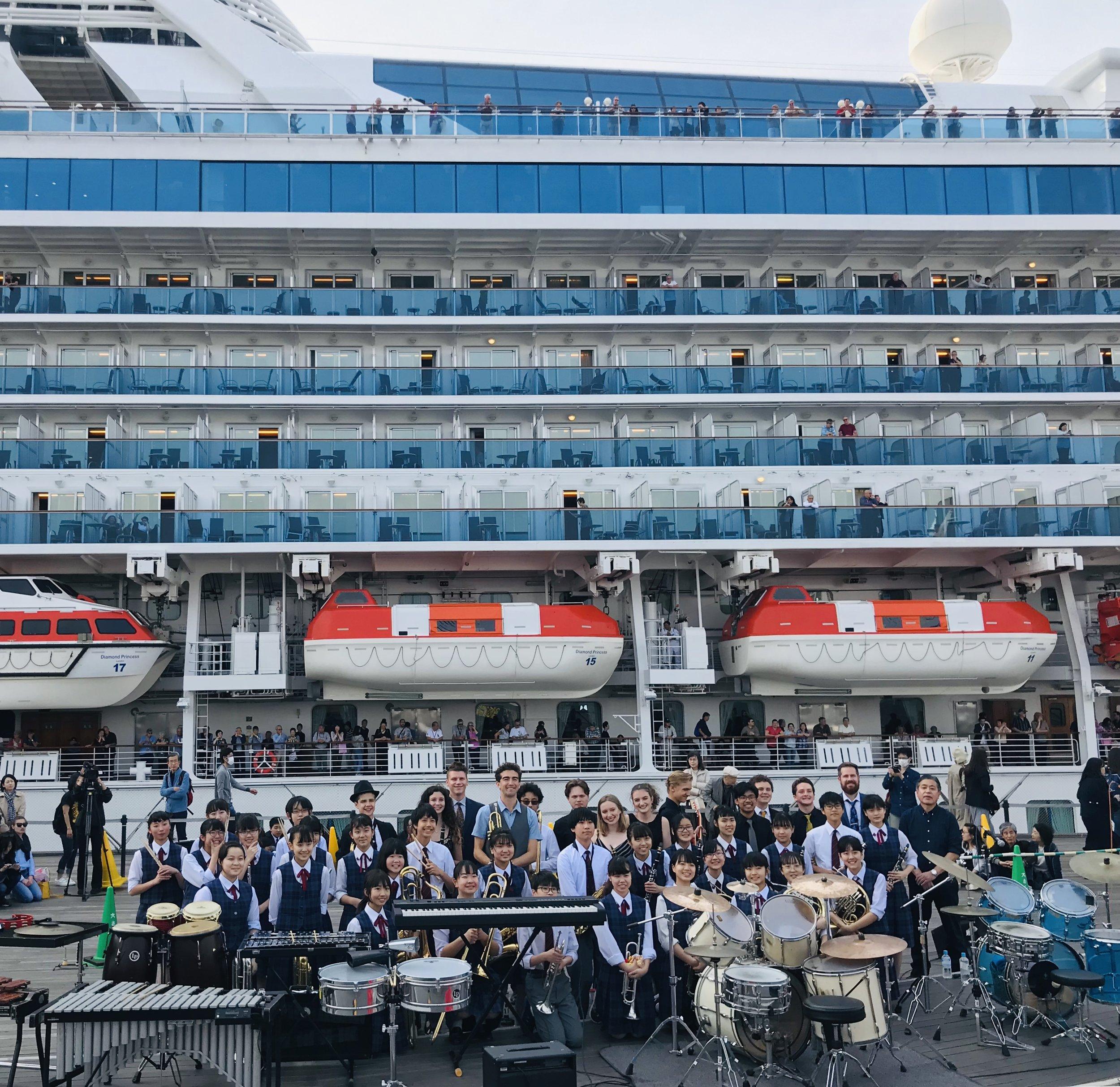 Osambashi with Minato Jr. High Jazz Band