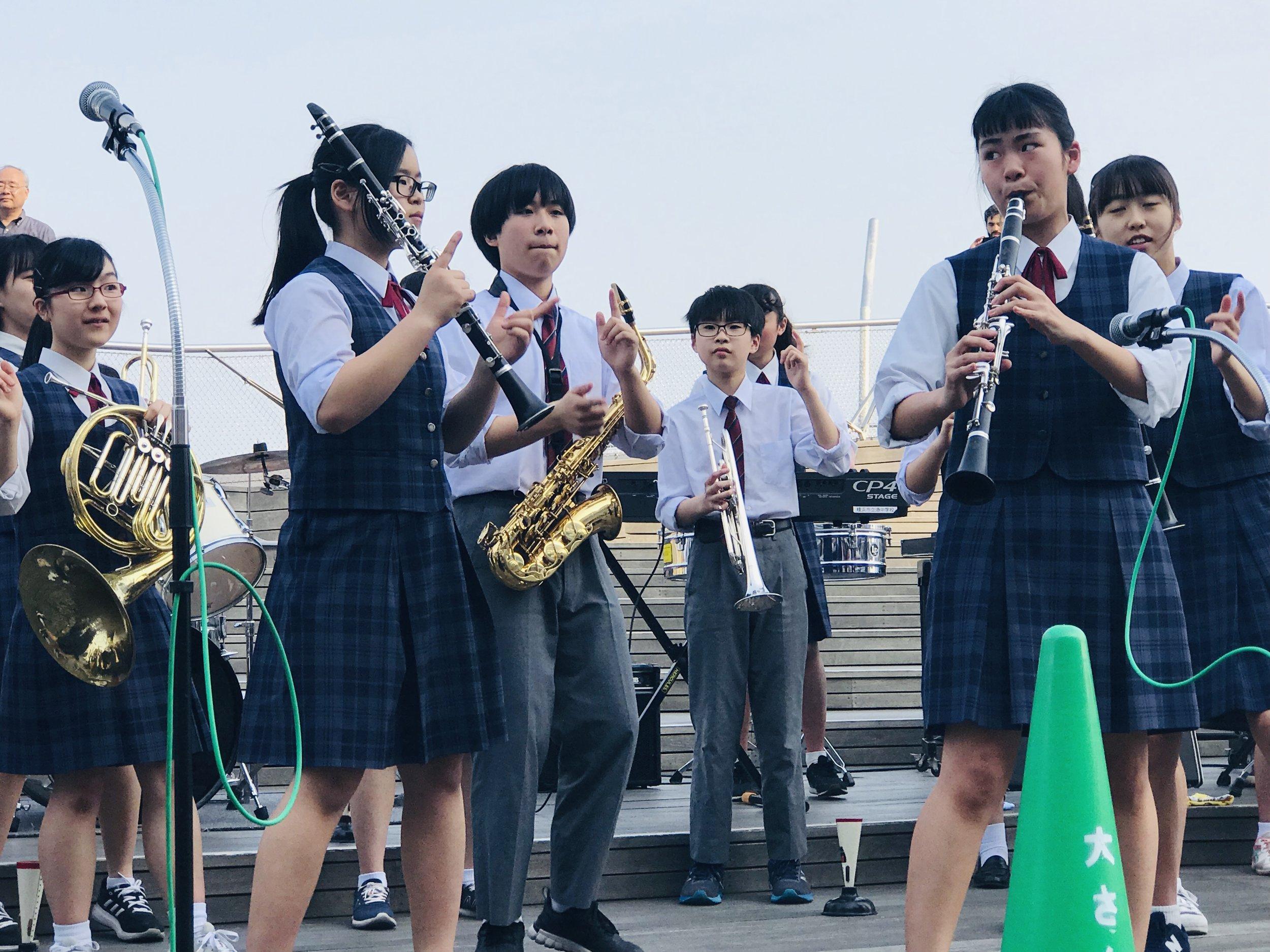 Minato Jr. High Jazz Band
