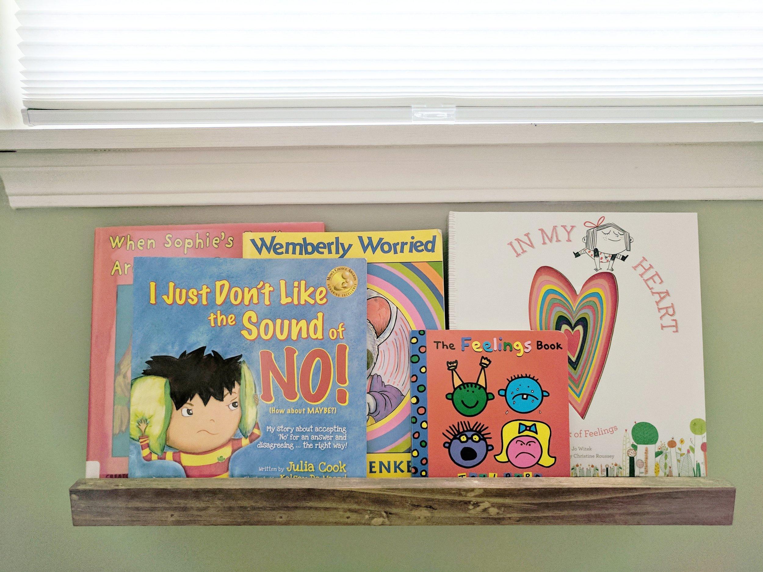 DIY Playroom Bookshelves