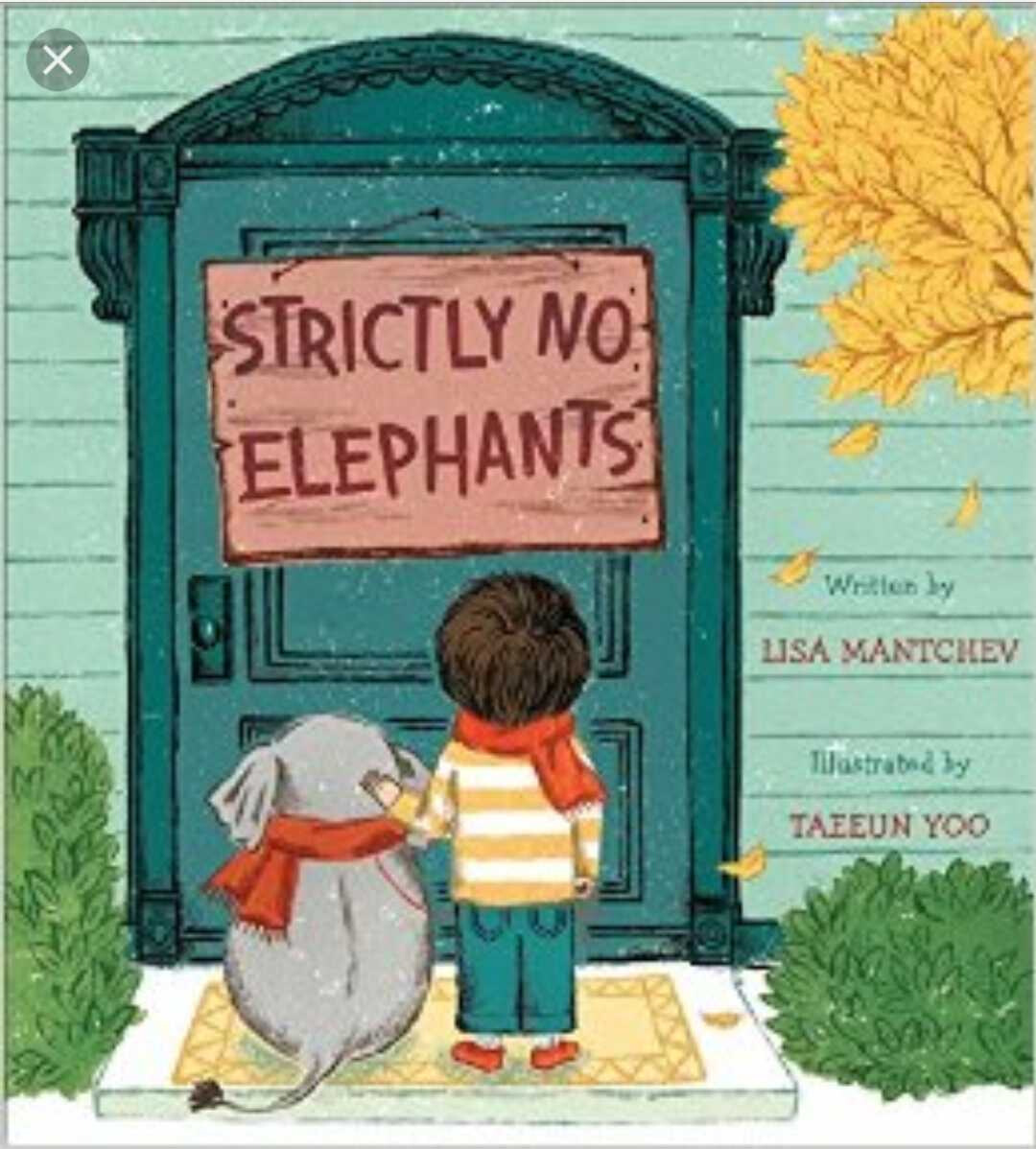 Strictly No Elephants - One of my all-time favorites! A sweet story about a boy and his unusual pet elephant. It teaches friendship values and inclusion.