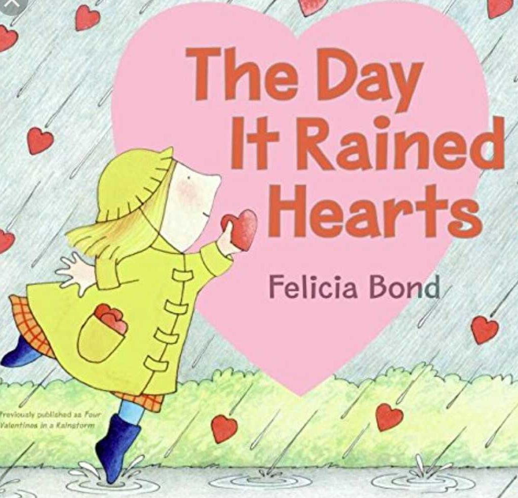 The Day It Rained Hearts - One of my childhood favorites! Such a sweet story about a girl who makes Valentines for each of her friends with hearts that rained down from the sky.Ideas to discuss: acts of kindness & having unique friendships