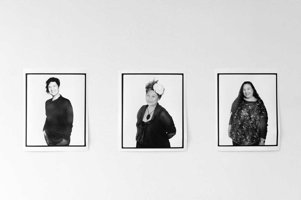 Facing the Camera, Jen Rae, Melbourne, Victoria, Australia , 2016;   Facing the Camera, Julie Tipene-o'Toole, Melbourne, Victoria, Australia , 2016;   Facing the Camera, Kirsten Lyttle, Melbourne, Victoria, Australia , 2016