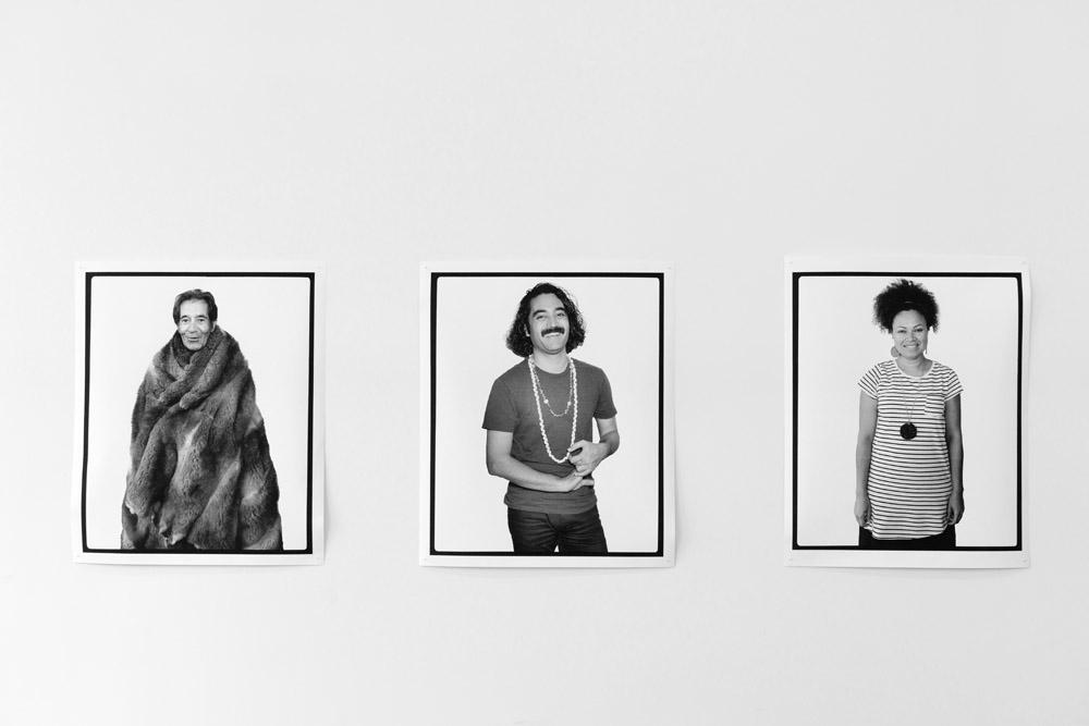 Facing the Camera, Leonard J. Tregonning, Melbourne, Victoria, Australia , 2016   Facing the Camera, Léuli Eshraghi, Melbourne, Victoria, Australia , 2016      Facing the Camera, Lisa Hilli, Melbourne, Victoria, Australia   , 2016