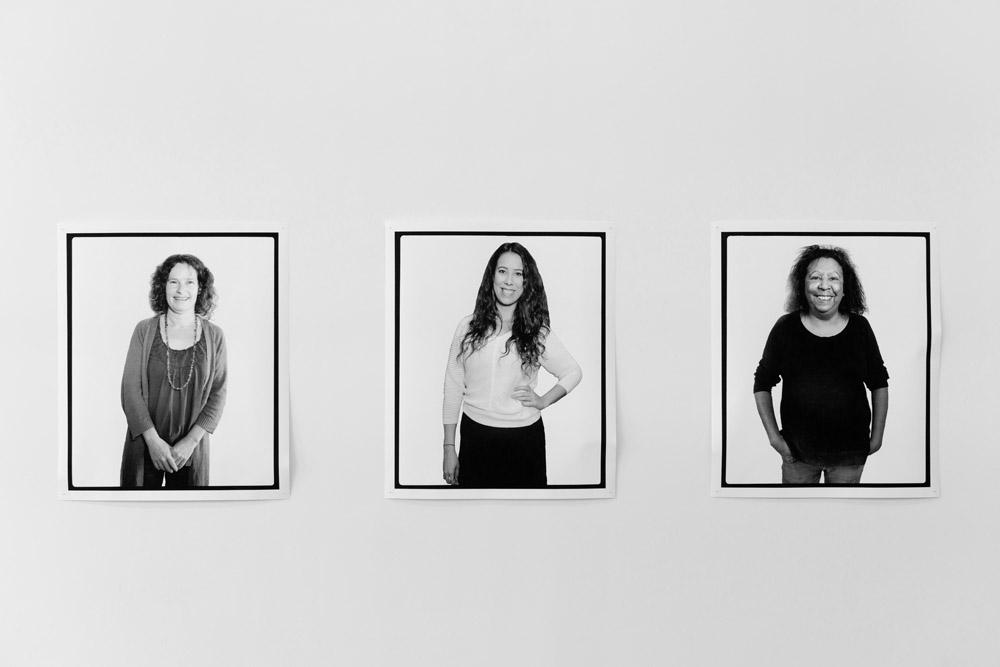 Facing the Camera, Lisa Kennedy, Churchill, Victoria, Australia , 2016   Facing the Camera, Kimberley Moulton, Melbourne, Victoria, Australia , 2016   Facing the Camera, Maree Clarke, Melbourne, Victoria, Australia , 2016