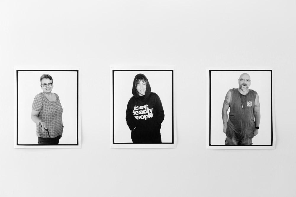 Facing the Camera, Me, Rosalie Favell, Melbourne, Victoria, Australia , 2016   Facing the Camera, Megan Cope, Melbourne, Victoria, Australia , 2016   Facing the Camera, Mick Harding, Churchill, Victoria, Australia , 2016