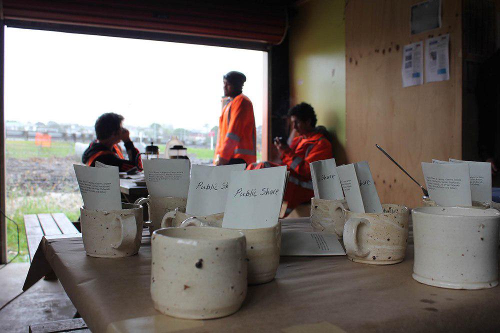 Public Share, Irregular allotments , Fulton Hogan site tearooms, 29 October 2014