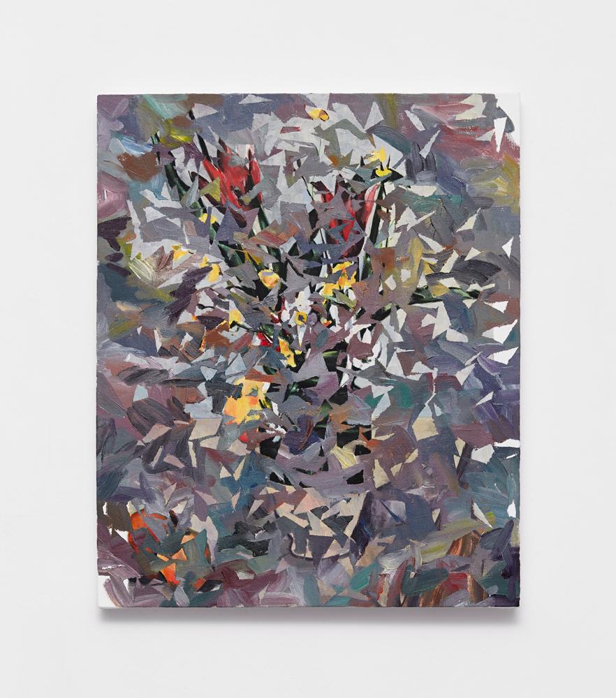 Beth Harland, Recursive 2 , oil on canvas