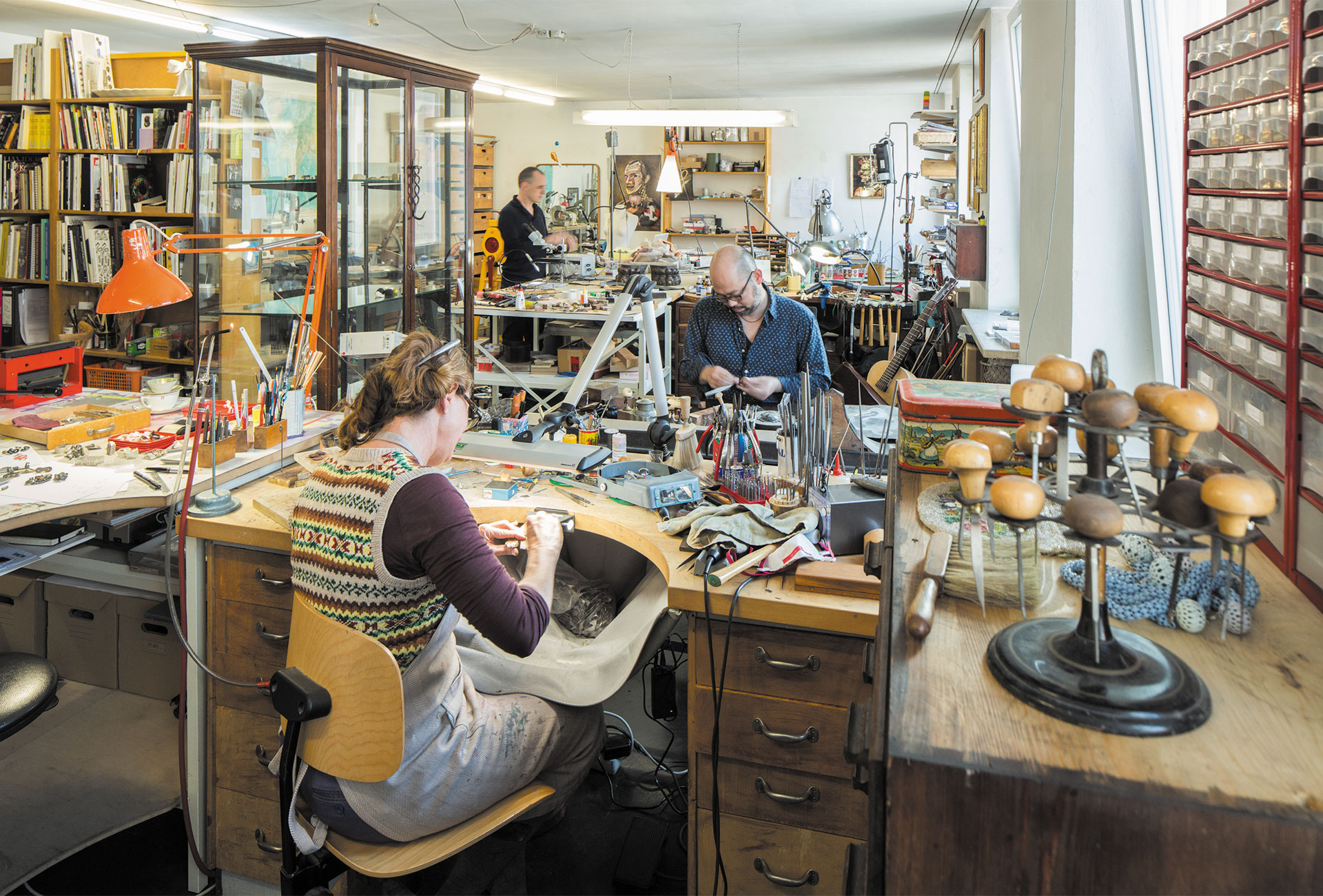 Atelier, Munich, photograph courtesy of the artists