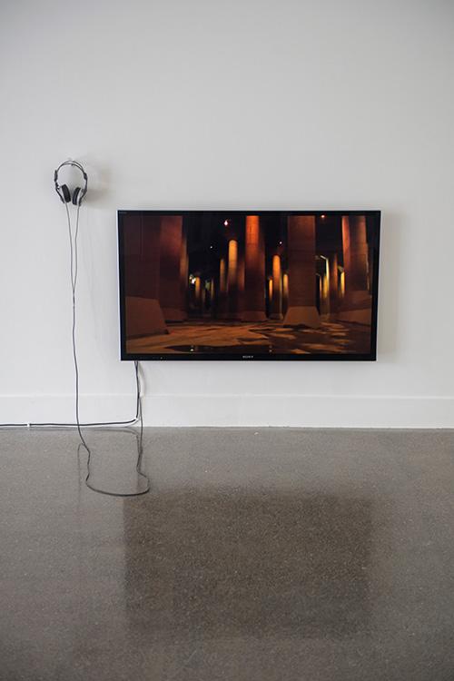 Dominic Redfern, Saitama,  2012, digital video. Sound by HACO and Philip Samartzis
